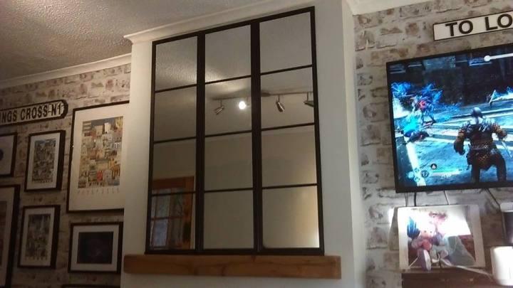 our window pane mirror